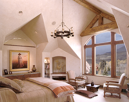 Lot 35 Master Bedroom Telluride johannsson Architects Aspen